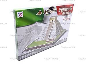 3D пазл «Пирамида Майя», 1001C, цена