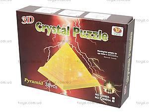 3D пазл «Пирамида», со светом, YJ6905A