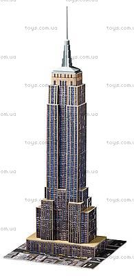 3D Пазл Ravensburger «Небоскреб Empire State Building», 12553, игрушки