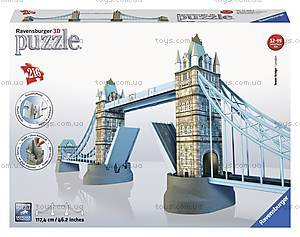 3D Пазл Ravensburger «Тауэрский мост», 12559, отзывы