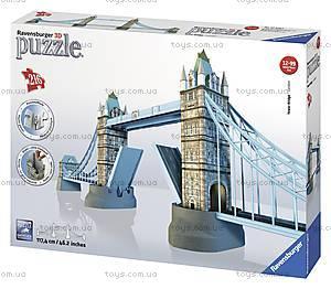 3D Пазл Ravensburger «Тауэрский мост», 12559, цена