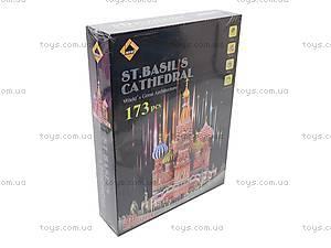 3D Пазл «Собор Василия Блаженного», B1892-3