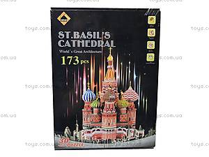 3D Пазл «Собор Василия Блаженного», B1892-3, купить
