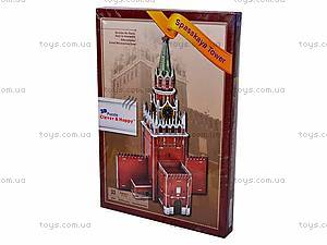 3D пазл «Спасская башня», Z-B055