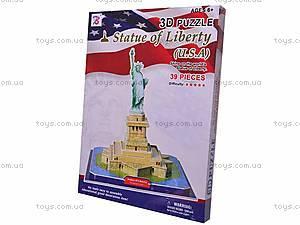 3D пазл «Статуя Свободы», 39 деталей, 1001W, купить
