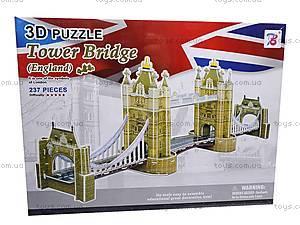3D-пазл «Тауэрский мост», 1000W, отзывы