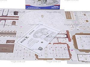 3D пазл «Триумфальная Арка», 1001Q, детские игрушки
