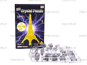 3D пазлы «Эйфелева башня», со светом, YJ6912, отзывы