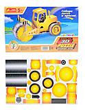 3D пазлы «Дорожный каток», 8022