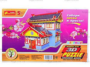 3D пазлы «Японский домик», 8046, фото