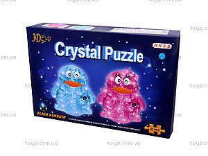 3D пазлы-кристаллы «Пингвин», 9008A, купить