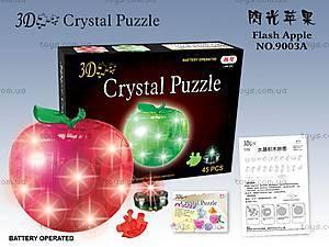 3D пазлы-кристаллы «Яблоко», 29016A, купить