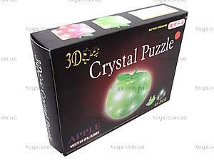 3D пазлы-кристаллы «Яблоко», 29016A