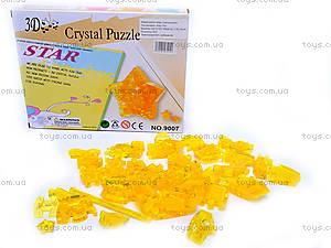 3D пазлы «Кристальная звезда», 9007, фото