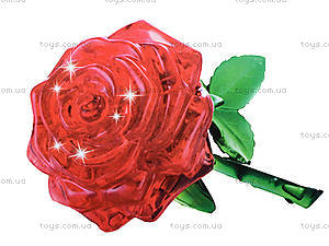 3D пазлы «Роза», 9001