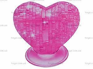 3D пазлы «Сердце», 9002, цена