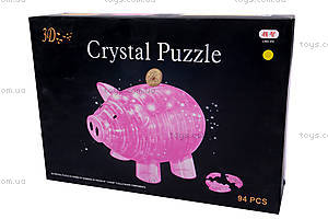 3D пазлы «Свинка-копилка», 9019, купить