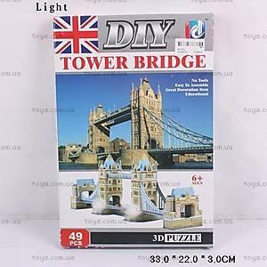 3D пазлы «Тауэрский мост», A112-2