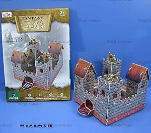3D пазлы «Замок», D203