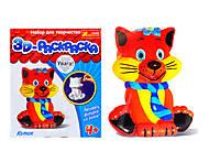 3D раскраска «Котик», 3044-6