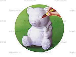 3Д раскраска «Медведь», 3044-8, купить