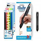 3D-ручка 3Doodler Create PLUS  для проф. использования - ЧЕРНАЯ (75 cтержней, аксессуары), 8CPSBKEU3E, купить