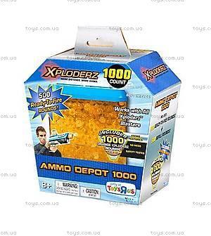 Запасные пульки Xploderz Ammo Depot 1000 Orange, 45119