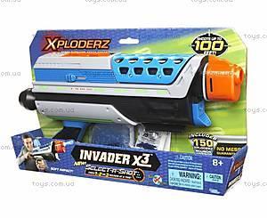 Игровой набор Xploderz X3 Invader, 46025