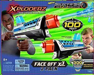 Игровой набор Xploderz X3 Face-Off, 46035