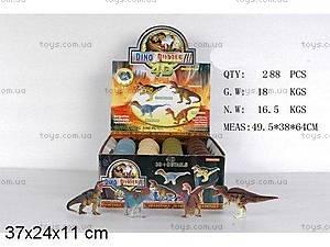 4D пазлы «Динозавр» в яйце, A10-4