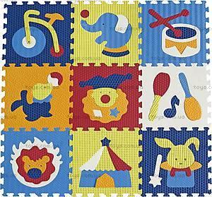 Детский коврик-пазл «Удивительный цирк», GB-M129С