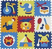 Детский коврик-пазл «Удивительный цирк», GB-M129С, фото