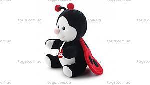 Мягкая игрушка Труди «Божья коровка», 52188