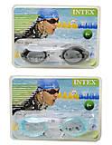 Спортивные очки для плавания с UV-защитой, 55684, фото