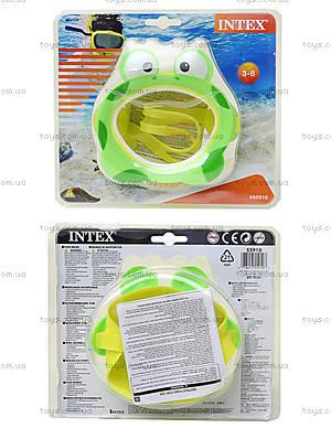 Детская маска для ныряния «Лягушка», 55910