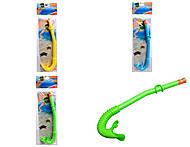 Трубка для плавания, ассортимент, 55922