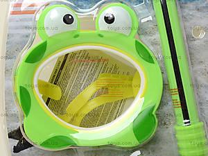 Детский набор для плавания «Лягушка», 55940, фото