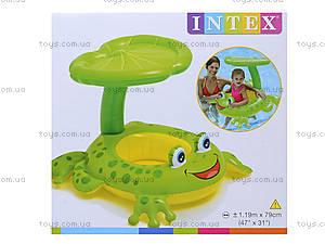 Плотик для малышей «Лягушка», 56584, игрушки