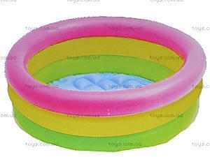 Детский бассейн с надувным дном «Рассвет», 57107, купить