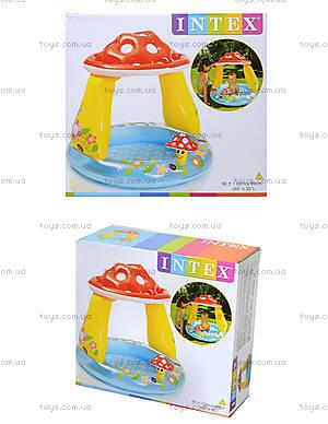 Бассейн для малышей «Мухомор», 57114