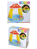 Бассейн для малышей «Мухомор», 57114, магазин игрушек