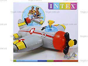 Детский плотик-самолет с водяным оружием, 57537, отзывы