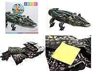 Детский плот для плавания «Крокодил», 57551, іграшки