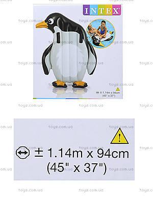 Пляжный надувной матрас «Животные», 58151