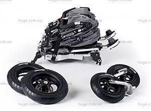 Прогулочная коляска Twinner Twist Duo Premium, anthrazit, T-TWD-Premium-411, детские игрушки