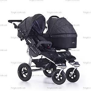 Прогулочная коляска Twinner Twist Duo Premium, anthrazit, T-TWD-Premium-411, магазин игрушек