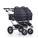 Люлька для двойни на коляску TWTWD Premium, anthrazit, T-44-Premium-411