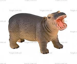 Игровая фигурка «Детеныш бегемота», 63617