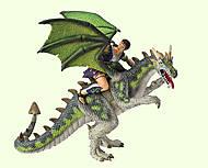 Игровая фигурка «Дракон со всадником», 75587, купить