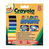 8 стираемых фломастеров для письма на доске, Crayola (176574), 8223